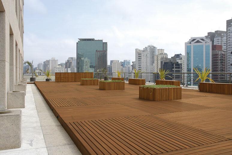 deck de madeira cumaru